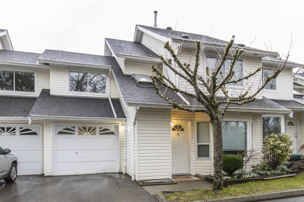 "Main Photo: 72 11588 232 Street in Maple Ridge: Cottonwood MR Townhouse for sale in ""COTTONWOOD VILLAGE"" : MLS®# R2144039"