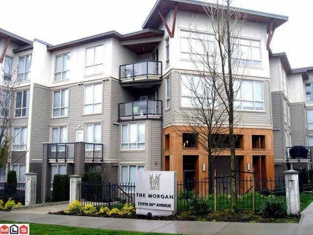 Main Photo: 318 15918 26TH AVENUE in : Grandview Surrey Condo for sale : MLS®# F1110405