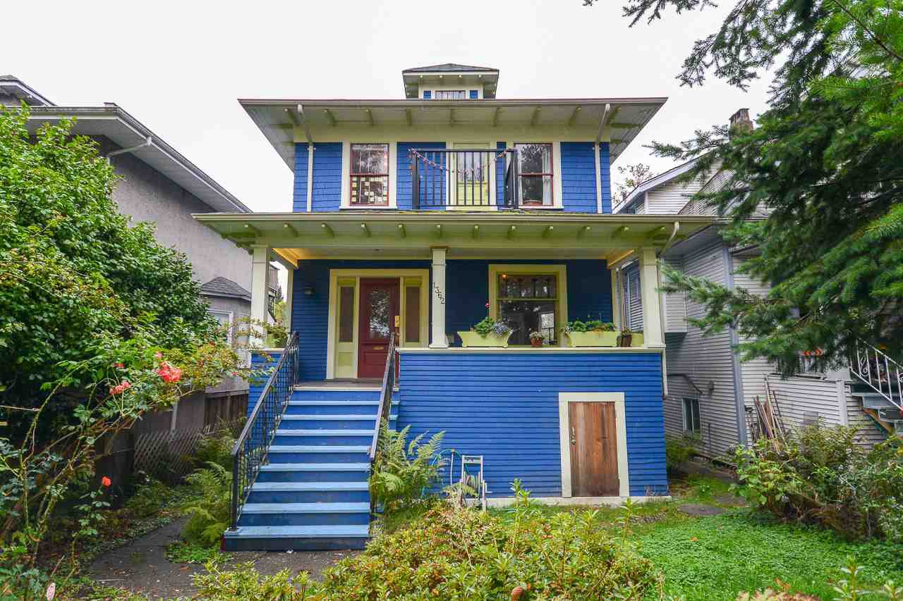 "Main Photo: 1362 E 10TH Avenue in Vancouver: Grandview VE House for sale in ""COMMERCIAL DRIVE"" (Vancouver East)  : MLS®# R2215470"
