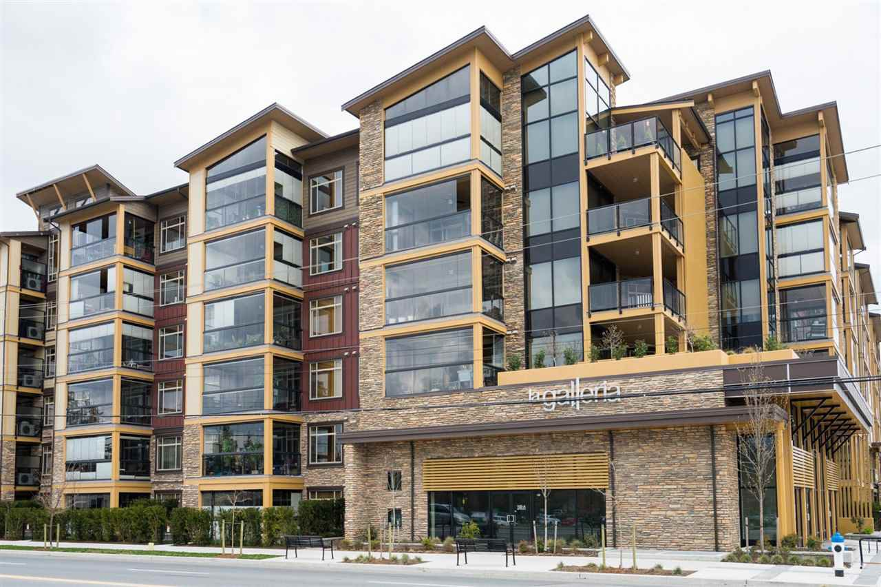 "Main Photo: 411 2860 TRETHEWEY Street in Abbotsford: Abbotsford West Condo for sale in ""La Galleria"" : MLS®# R2249080"