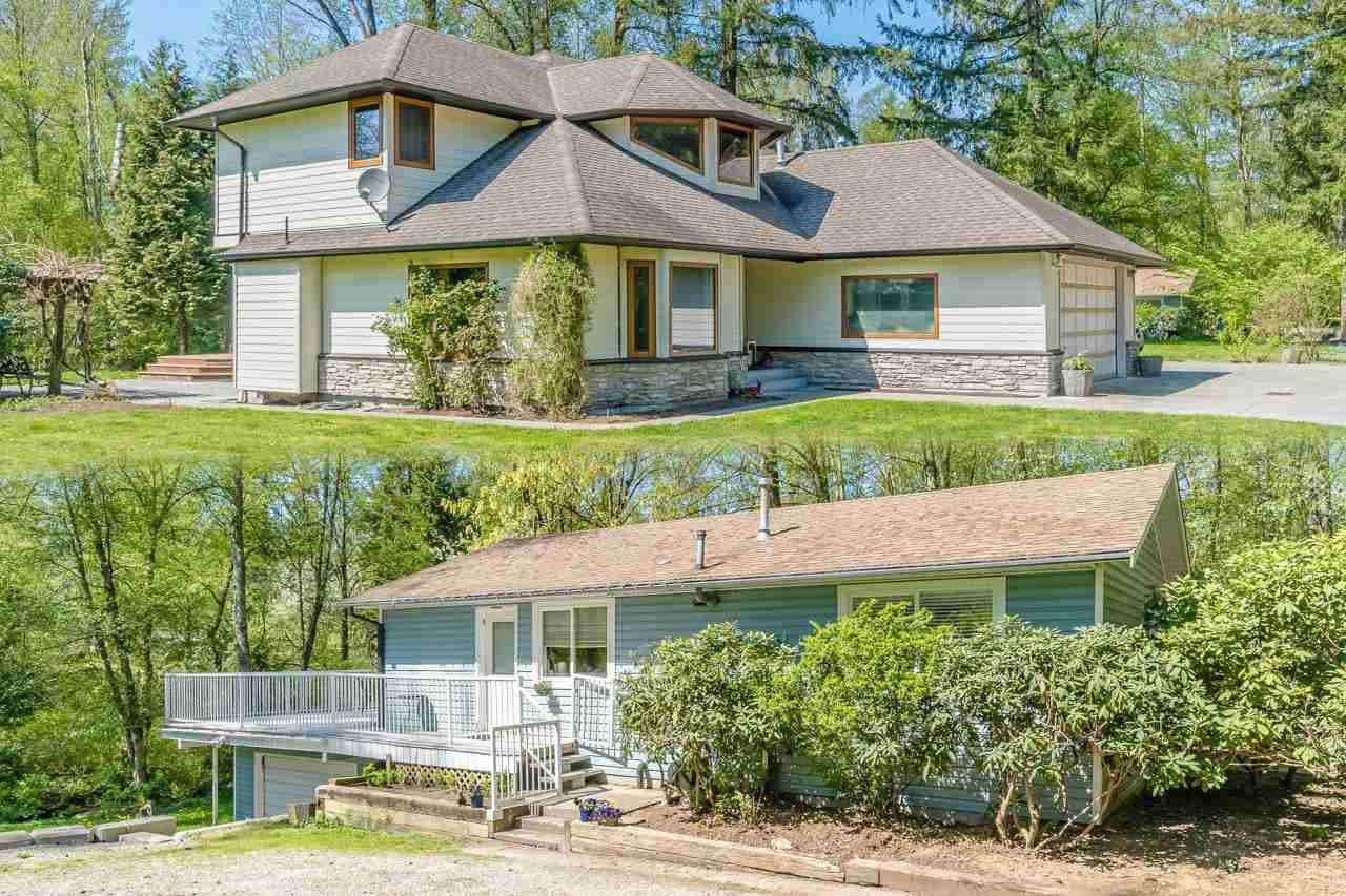 Main Photo: 18909 86 Avenue in Surrey: Port Kells House for sale (North Surrey)  : MLS®# R2262864