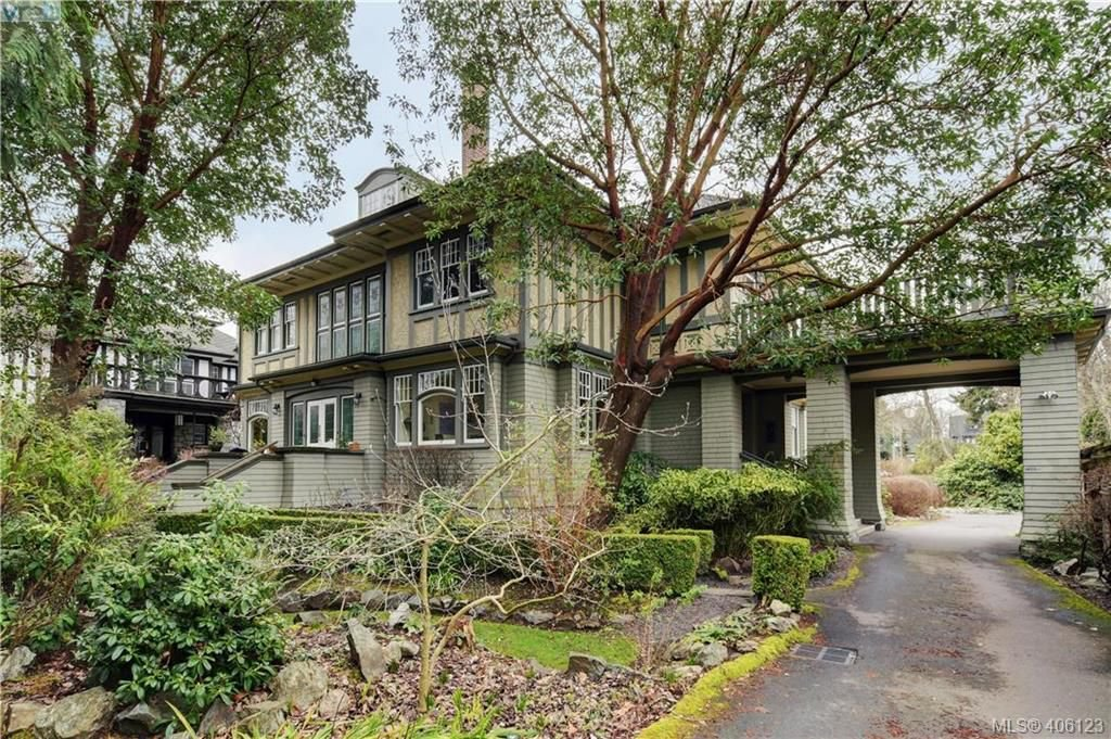 Main Photo: 5 914 St. Charles Street in VICTORIA: Vi Rockland Row/Townhouse for sale (Victoria)  : MLS®# 406123