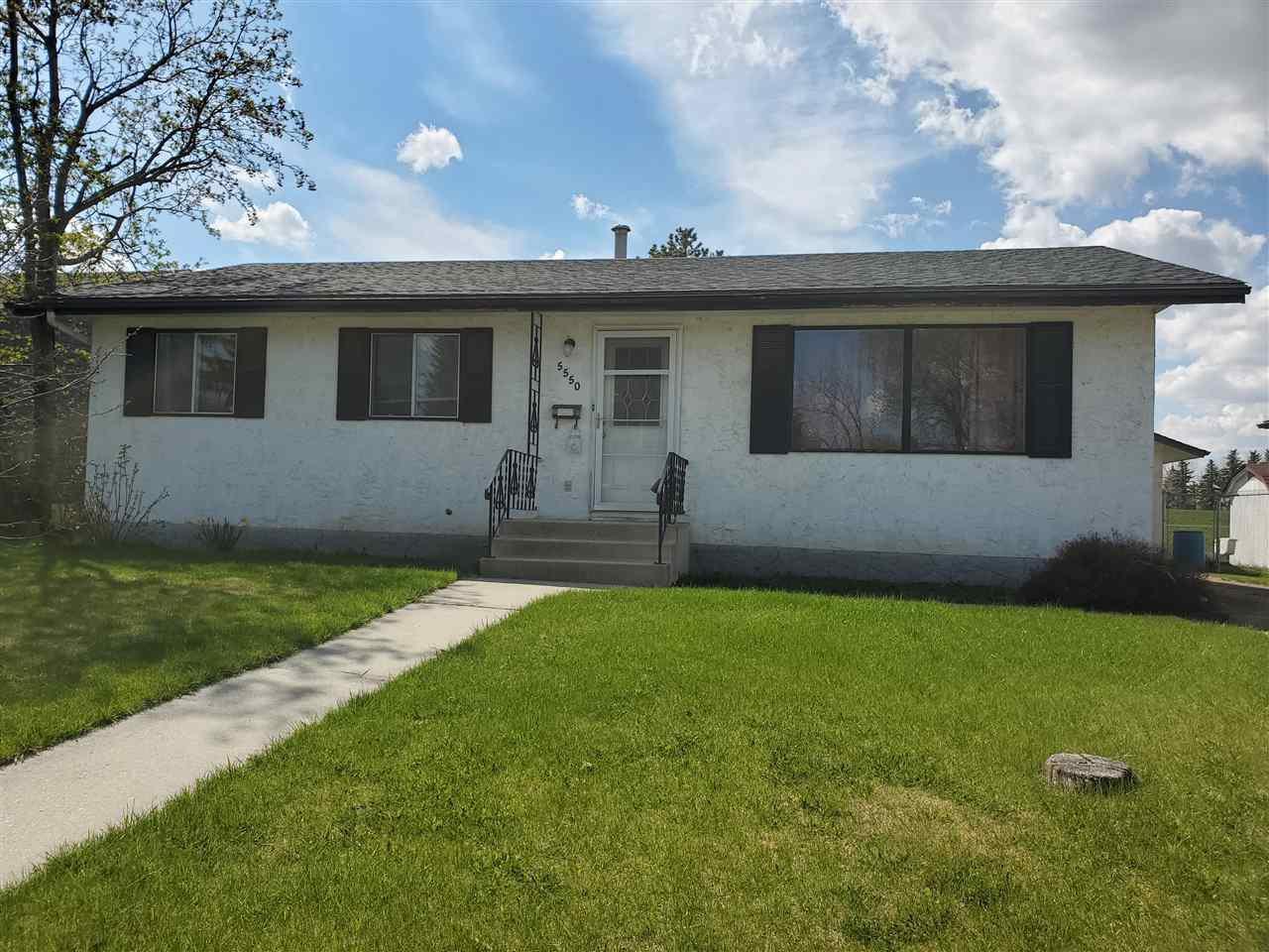 Main Photo: 5550 55A Street: Wetaskiwin House for sale : MLS®# E4179033