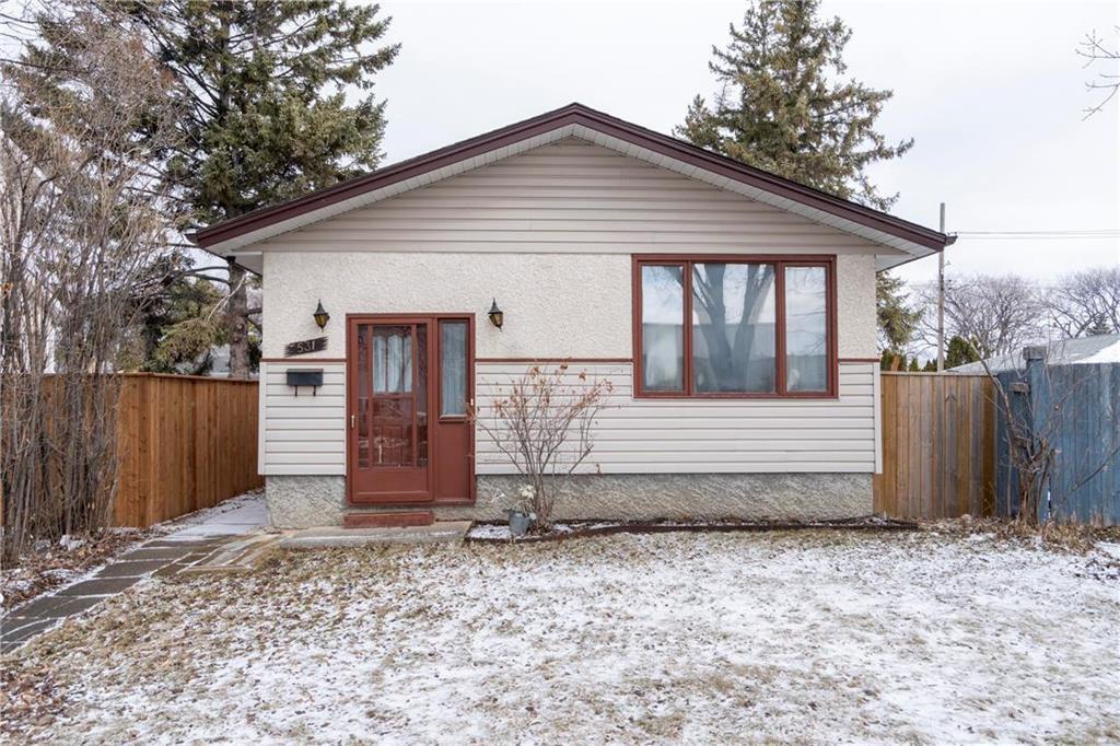 Main Photo: 531 Pandora Avenue West in Winnipeg: West Transcona Residential for sale (3L)  : MLS®# 202007635
