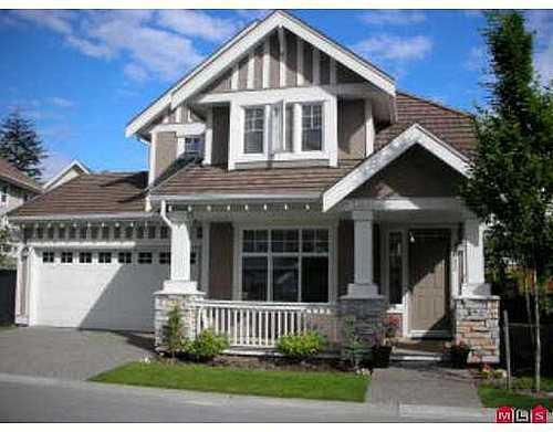 Main Photo: 43 15288 36 Avenue in Cambria: Morgan Creek Home for sale ()  : MLS®# F2713867