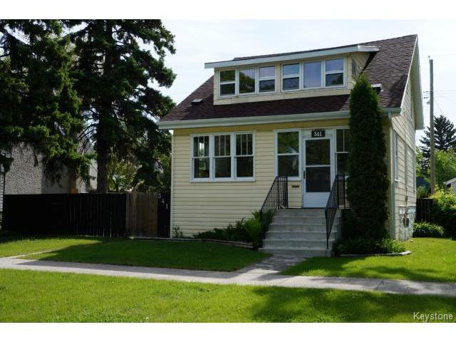 Main Photo: 341 Woodlawn Street in WINNIPEG: St James Residential for sale (West Winnipeg)  : MLS®# 1413801