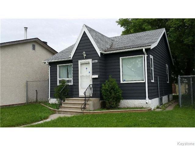 Main Photo: 1079 Valour Road in Winnipeg: West End / Wolseley Residential for sale (West Winnipeg)  : MLS®# 1618701