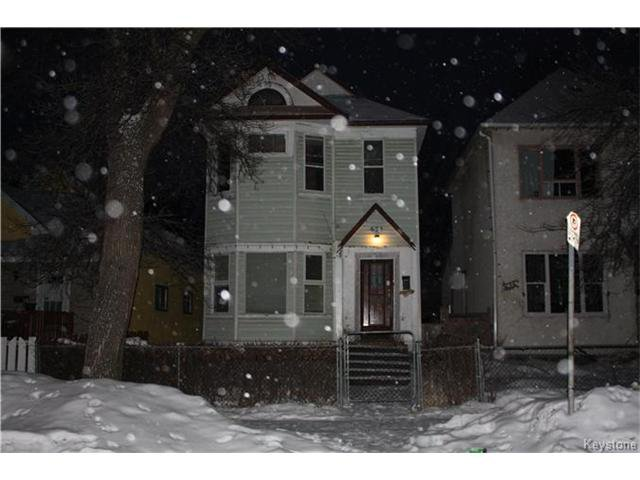 Main Photo: 634 Toronto Street in Winnipeg: Residential for sale (5A)  : MLS®# 1702334