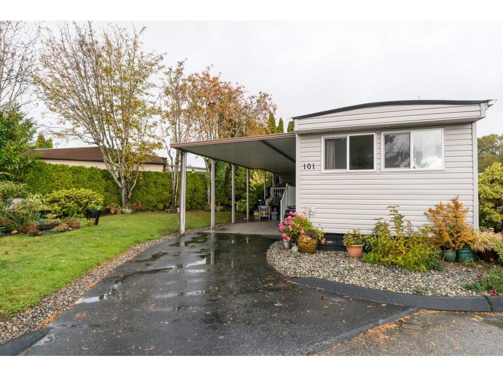 """Main Photo: 101 1840 160 Street in Surrey: King George Corridor Manufactured Home for sale in """"Breakaway Bays"""" (South Surrey White Rock)  : MLS®# R2215928"""
