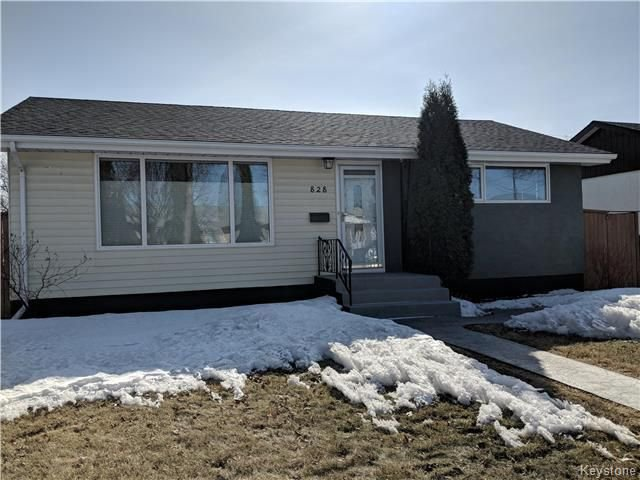 Main Photo: 828 Simpson Avenue in Winnipeg: East Kildonan Residential for sale (3B)  : MLS®# 1808058