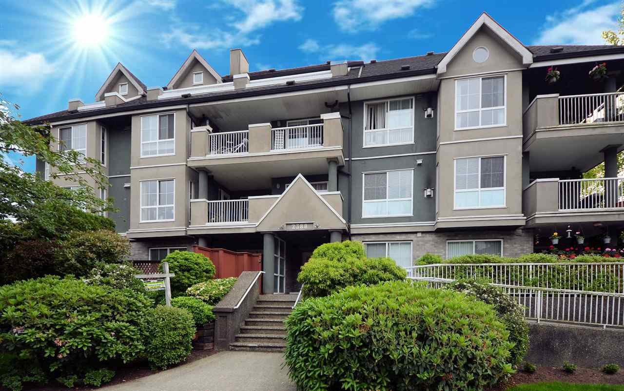 "Main Photo: 206 2388 WELCHER Avenue in Port Coquitlam: Central Pt Coquitlam Condo for sale in ""PARK GREEN"" : MLS®# R2375539"