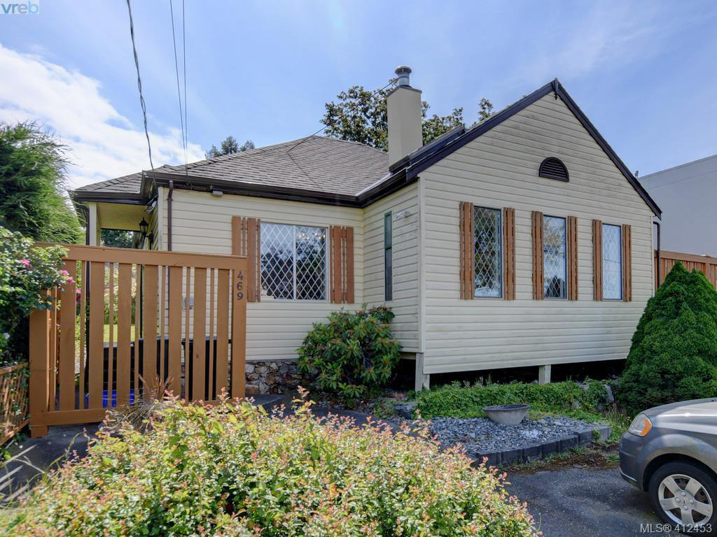 Main Photo: 469 Sturdee Street in VICTORIA: Es Esquimalt Single Family Detached for sale (Esquimalt)  : MLS®# 412453