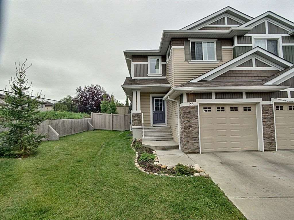 Main Photo: 25 655 Tamarack Road in Edmonton: Zone 30 House Half Duplex for sale : MLS®# E4169608