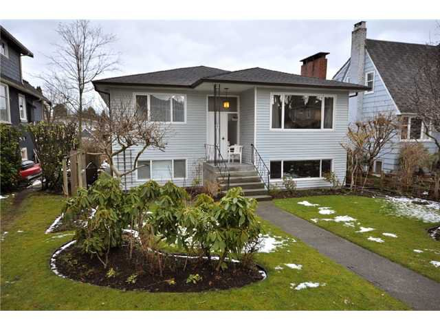 Main Photo: 4569 W 13TH Avenue in Vancouver: Point Grey House for sale (Vancouver West)  : MLS®# V872899