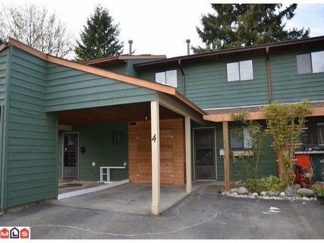 Main Photo: 4 33853 MARSHALL Road in ABBOTSFORD: Central Abbotsford Townhouse for rent (Abbotsford)
