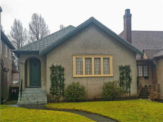 "Main Photo: 3331 W 22ND Avenue in Vancouver: Dunbar House for sale in ""Dunbar"" (Vancouver West)  : MLS®# V1101230"