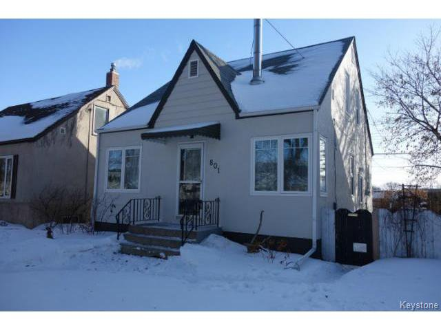 Main Photo: 801 Clifton Street in WINNIPEG: West End / Wolseley Residential for sale (West Winnipeg)  : MLS®# 1504351