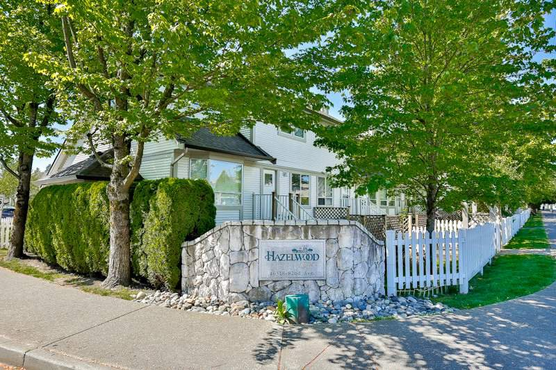 "Main Photo: 11 16318 82 Avenue in Surrey: Fleetwood Tynehead Townhouse for sale in ""Hazelwood Lane"" : MLS®# R2066434"