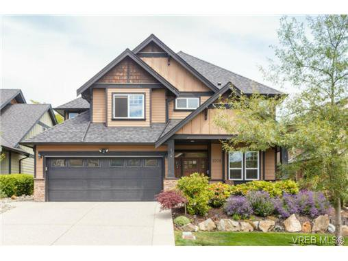 Main Photo: 1008 Limestone Lane in VICTORIA: La Bear Mountain Single Family Detached for sale (Langford)  : MLS®# 366772
