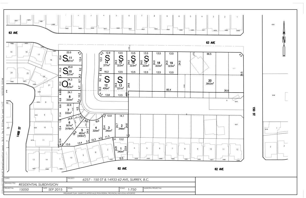 Main Photo: LT.12 14933 62 Avenue in Surrey: Sullivan Station Land for sale : MLS®# R2137911