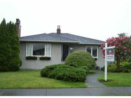 Main Photo: 156 46TH Ave in Vancouver West: Home for sale : MLS®# V831885