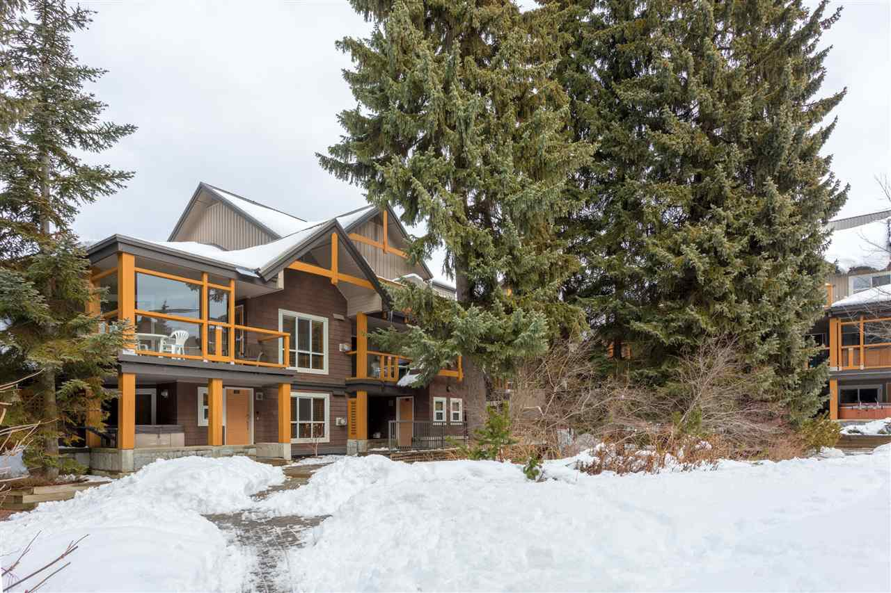 Photo 1: Photos: 109 4388 NORTHLANDS BOULEVARD in Whistler: Whistler Village Townhouse for sale : MLS®# R2249101