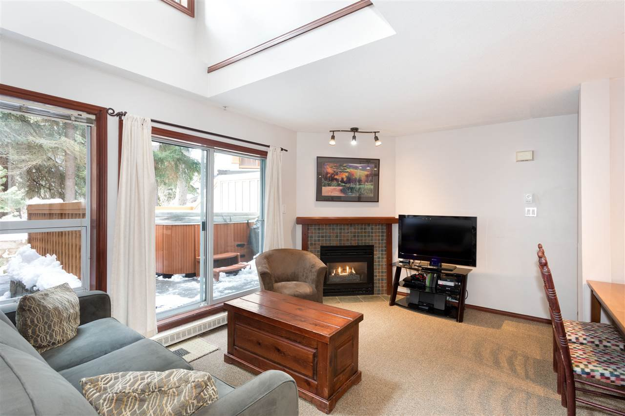 Photo 2: Photos: 109 4388 NORTHLANDS BOULEVARD in Whistler: Whistler Village Townhouse for sale : MLS®# R2249101