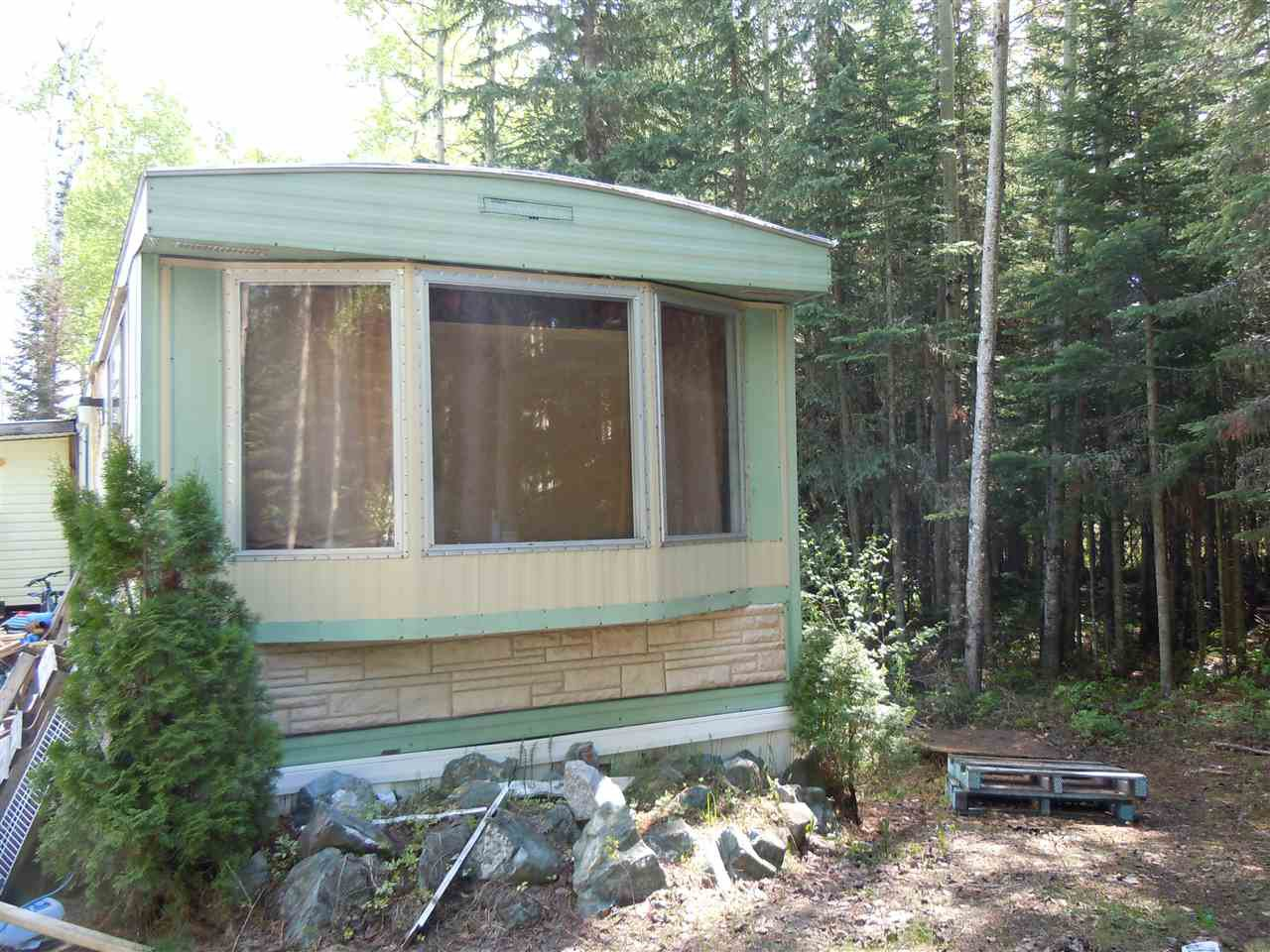 Main Photo: 19300 CHIEF LAKE Road: Nukko Lake Manufactured Home for sale (PG Rural North (Zone 76))  : MLS®# R2373170