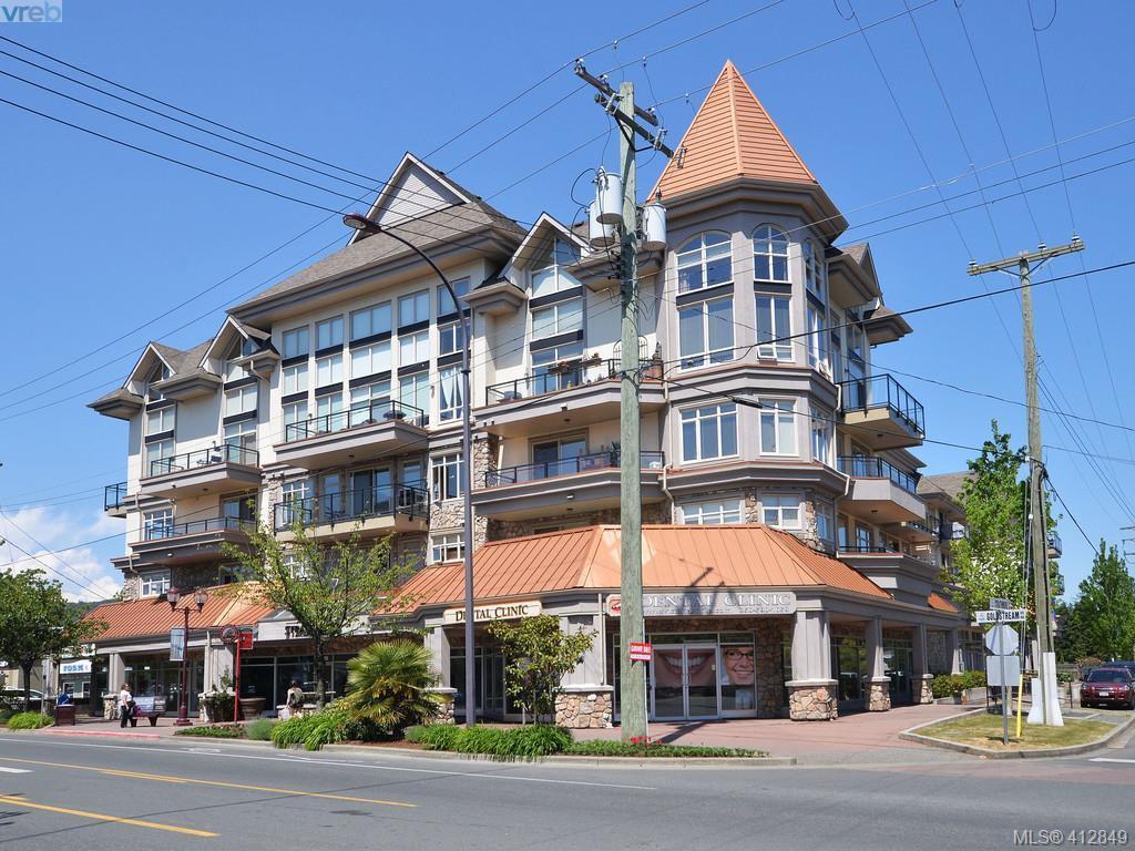 Main Photo: 418 866 Goldstream Avenue in VICTORIA: La Langford Proper Condo Apartment for sale (Langford)  : MLS®# 412849