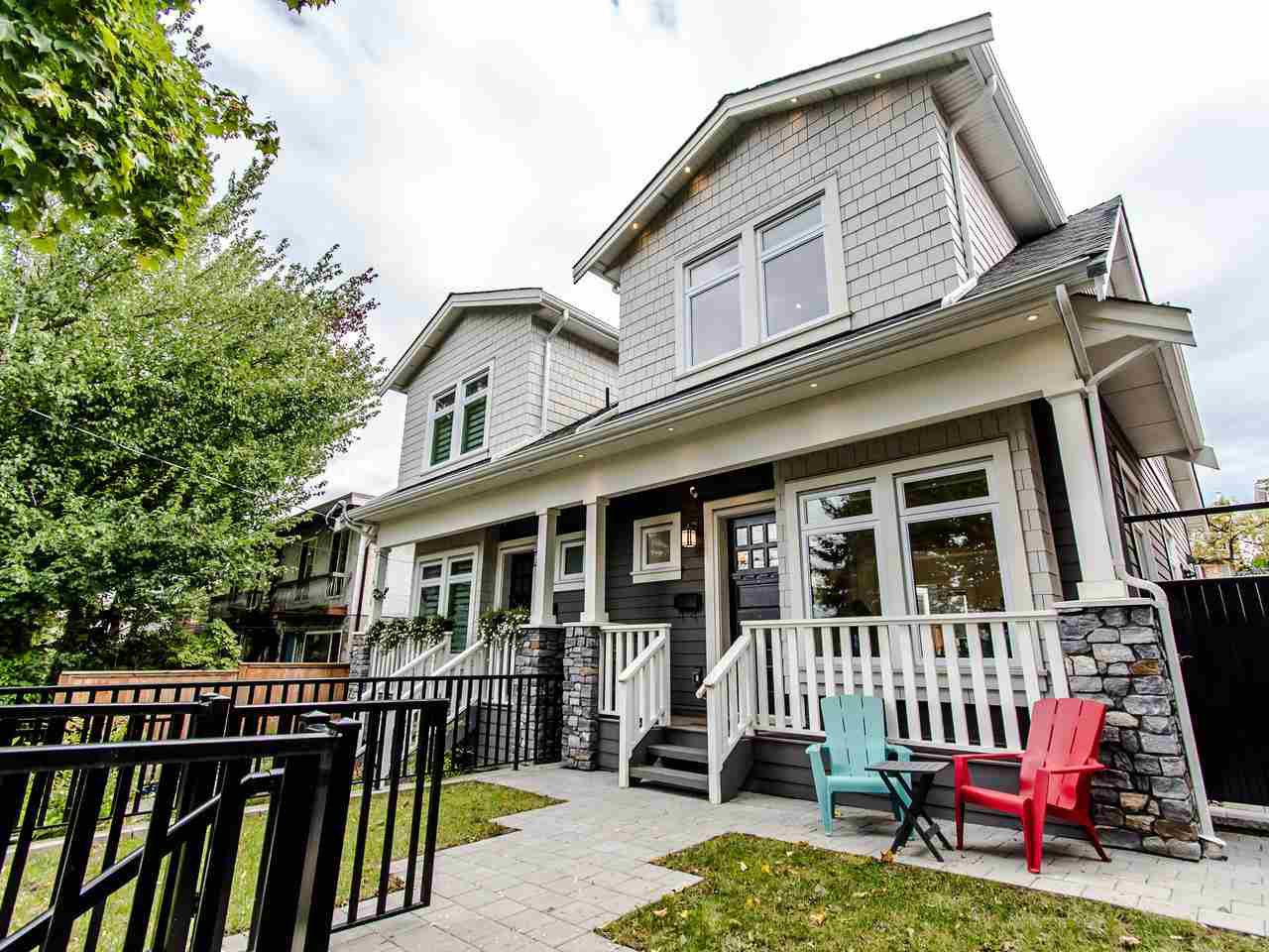 Main Photo: 1326 E 15TH Avenue in Vancouver: Grandview Woodland House 1/2 Duplex for sale (Vancouver East)  : MLS®# R2410220