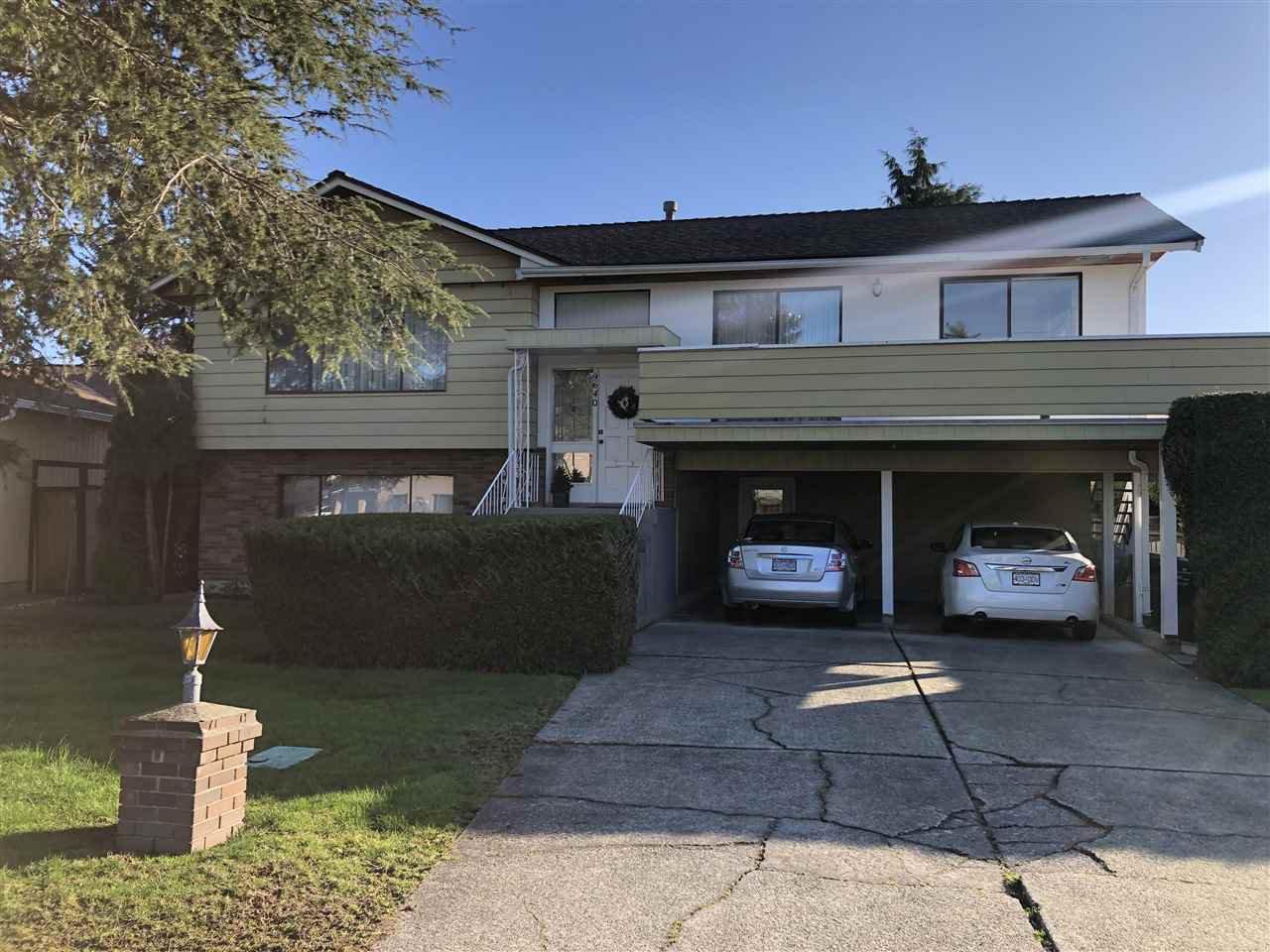 Main Photo: 9640 SNOWDON Avenue in Richmond: South Arm House for sale : MLS®# R2438920