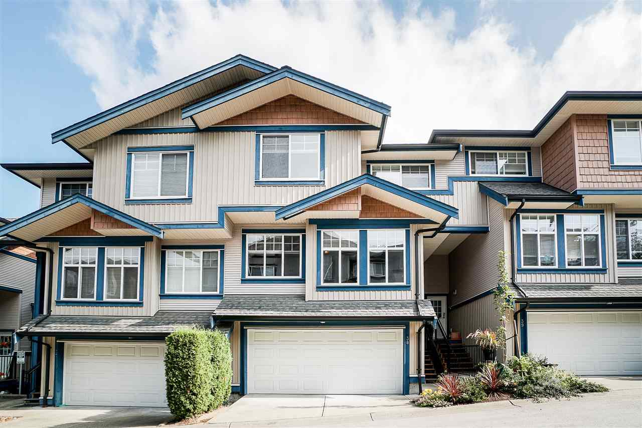 "Main Photo: 38 14462 61A Avenue in Surrey: Sullivan Station Townhouse for sale in ""Ravina"" : MLS®# R2508568"