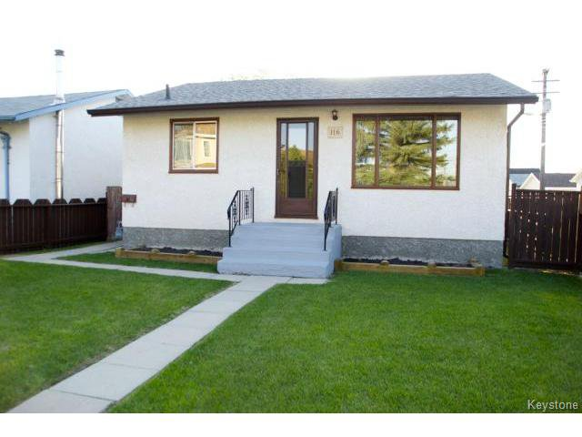 Main Photo: 116 Foster Street in WINNIPEG: East Kildonan Residential for sale (North East Winnipeg)  : MLS®# 1511639