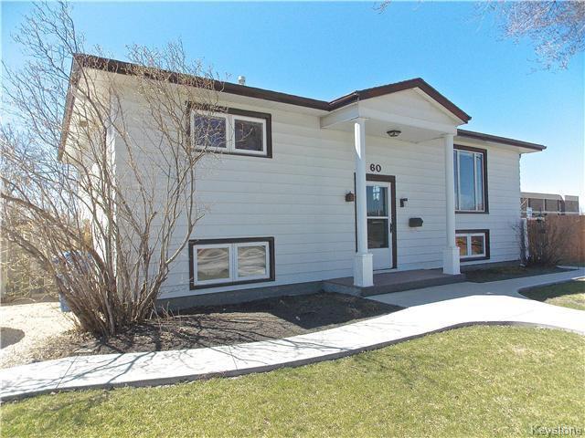 Main Photo: 60 Whitehall Boulevard in Winnipeg: Residential for sale : MLS®# 1610686
