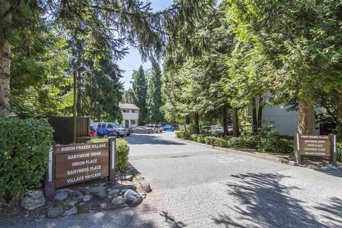 Main Photo: 3204 GANYMEDE Drive in Burnaby: Simon Fraser Hills Townhouse for sale (Burnaby North)  : MLS®# R2193030