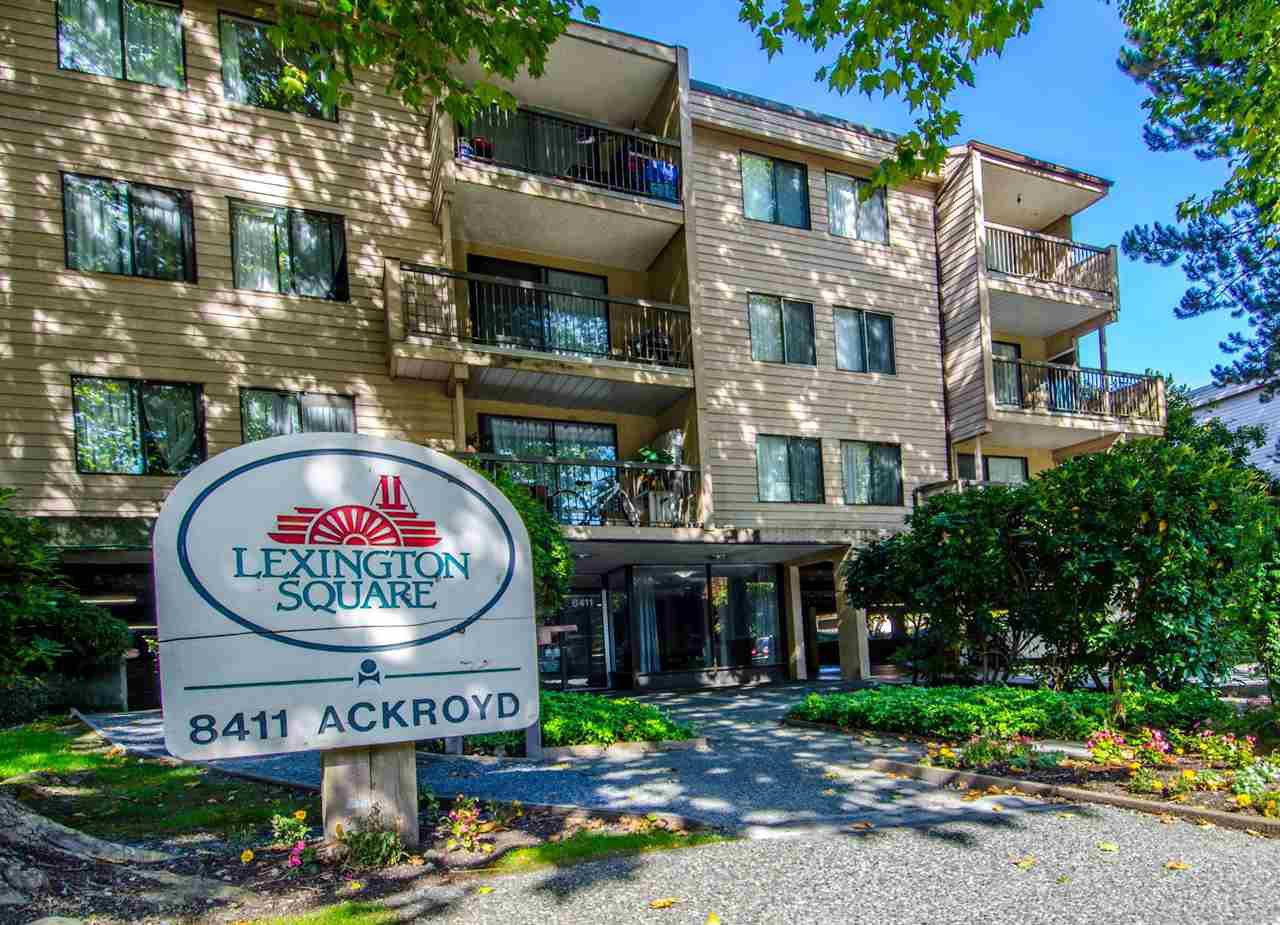 Main Photo: 119 8411 ACKROYD Road in Richmond: Brighouse Condo for sale : MLS®# R2310761