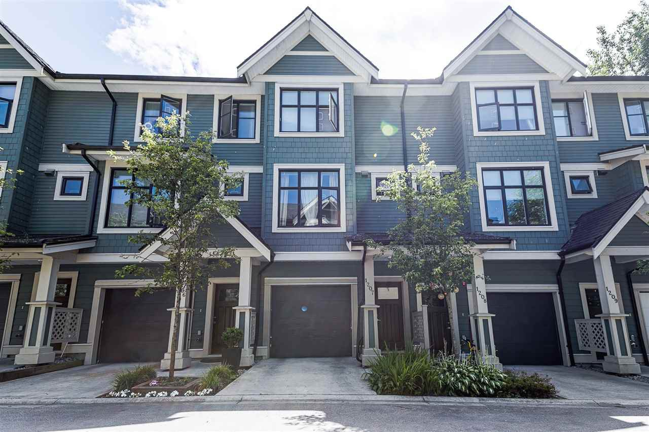 Main Photo: 1207 8485 NEW HAVEN Close in Burnaby: Big Bend Townhouse for sale (Burnaby South)  : MLS®# R2382297