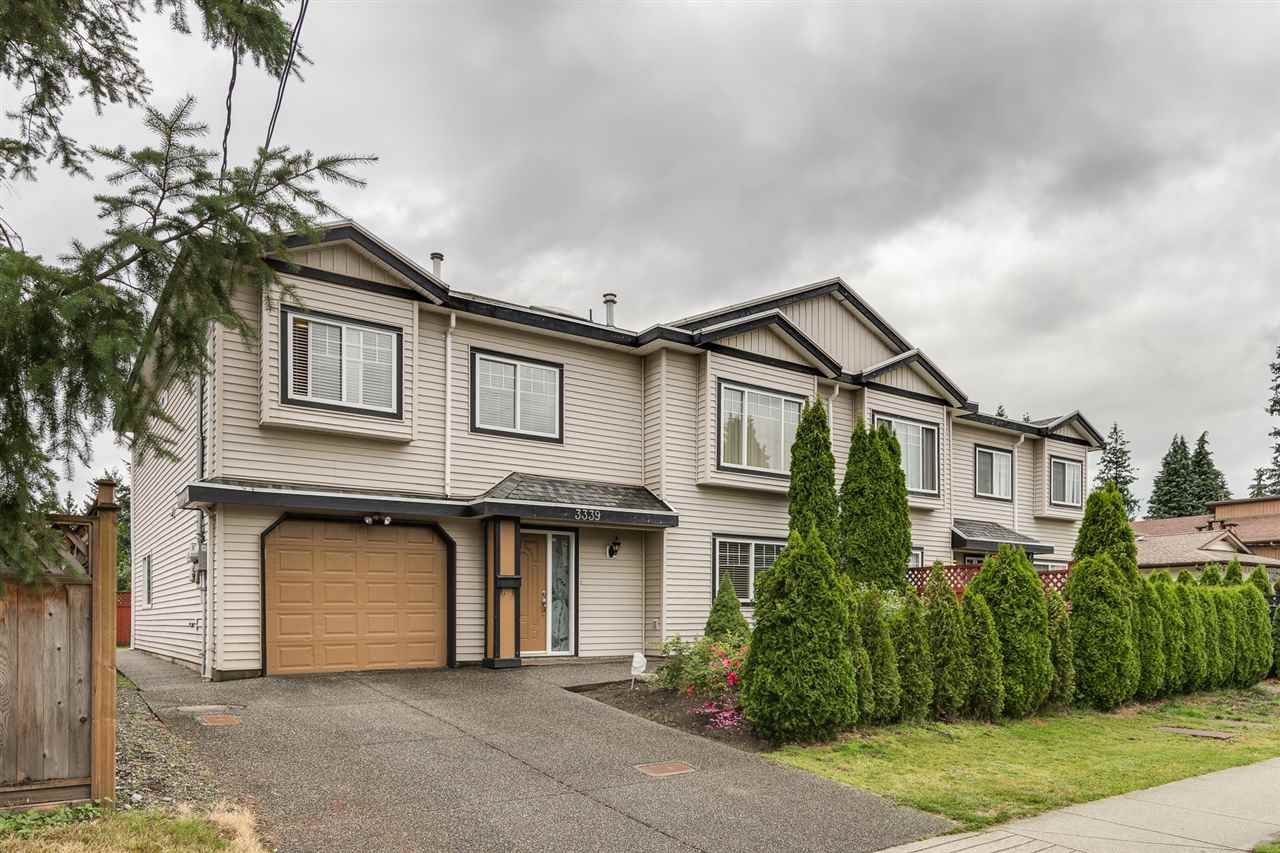 Main Photo: 3339 WELLINGTON Street in Port Coquitlam: Glenwood PQ House 1/2 Duplex for sale : MLS®# R2389505