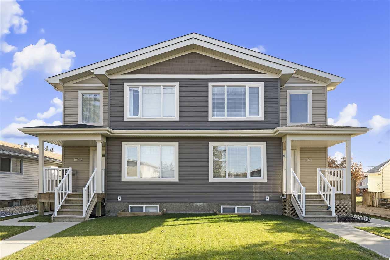 Main Photo: 10343 154 Street NW in Edmonton: Zone 21 House Duplex for sale : MLS®# E4179276
