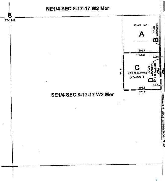 Main Photo: Parcel C in Edenwold: Lot/Land for sale (Edenwold Rm No. 158)  : MLS®# SK819437