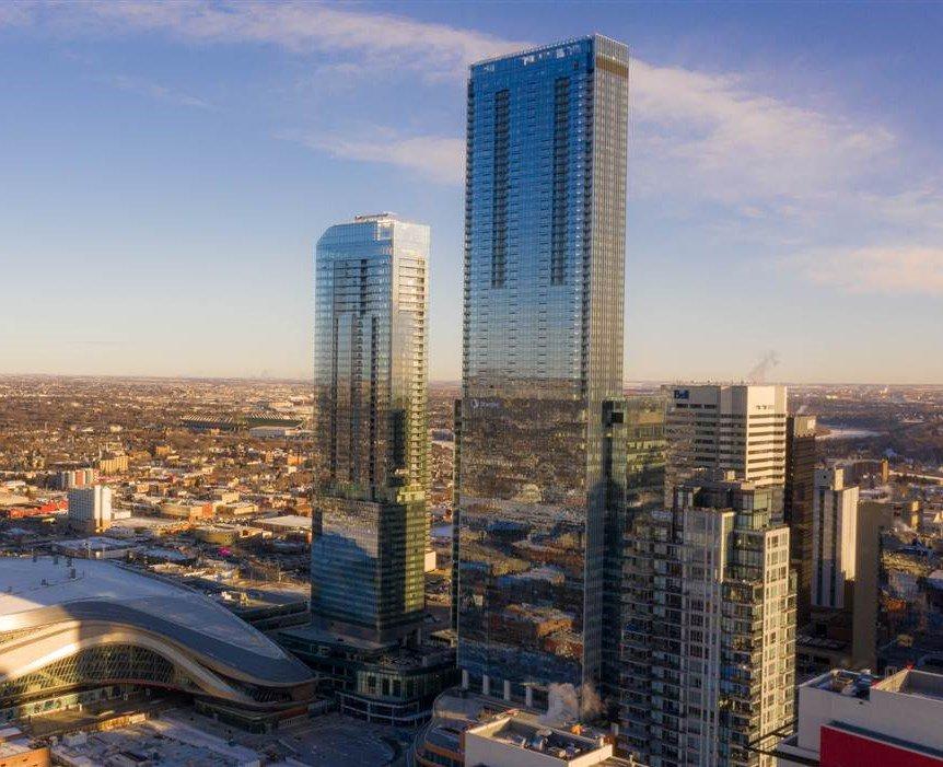 Main Photo: 4707 10310 102 Street in Edmonton: Zone 12 Condo for sale : MLS®# E4221008