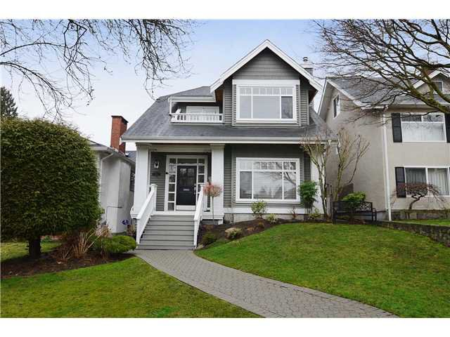 Main Photo: 3951 W 24TH AV in Vancouver: Dunbar House for sale (Vancouver West)  : MLS®# V1006355