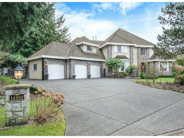 "Main Photo: 14252 31A Avenue in Surrey: Elgin Chantrell House for sale in ""ELGIN PARK"" (South Surrey White Rock)  : MLS®# F1430640"