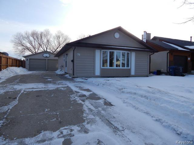 Main Photo: 74 Marianne Road in WINNIPEG: Maples / Tyndall Park Residential for sale (North West Winnipeg)  : MLS®# 1501648