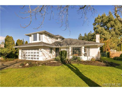 Main Photo: 4700 Sunnymead Way in VICTORIA: SE Sunnymead Single Family Detached for sale (Saanich East)  : MLS®# 722127