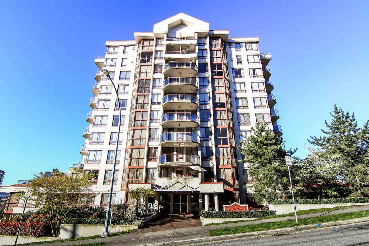 "Main Photo: 804 220 ELEVENTH Street in New Westminster: Uptown NW Condo for sale in ""QUEENS COVE"" : MLS®# R2050568"