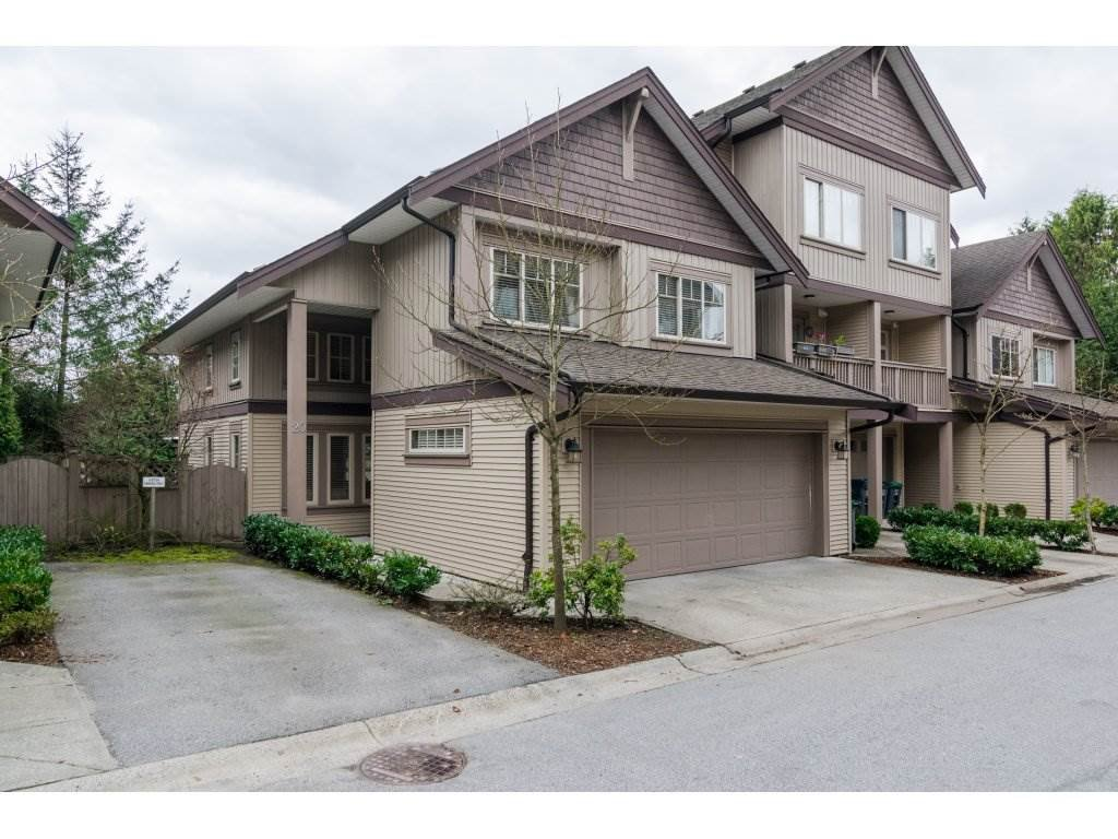 "Main Photo: 20 6238 192 Street in Surrey: Cloverdale BC Townhouse for sale in ""BAKERVIEW TERRACE"" (Cloverdale)  : MLS®# R2149954"