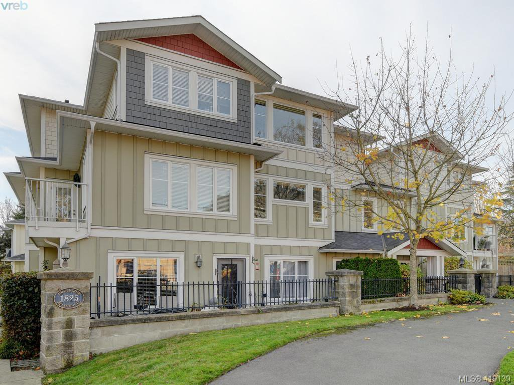Main Photo: 106 1825 Kings Road in VICTORIA: SE Camosun Row/Townhouse for sale (Saanich East)  : MLS®# 419139