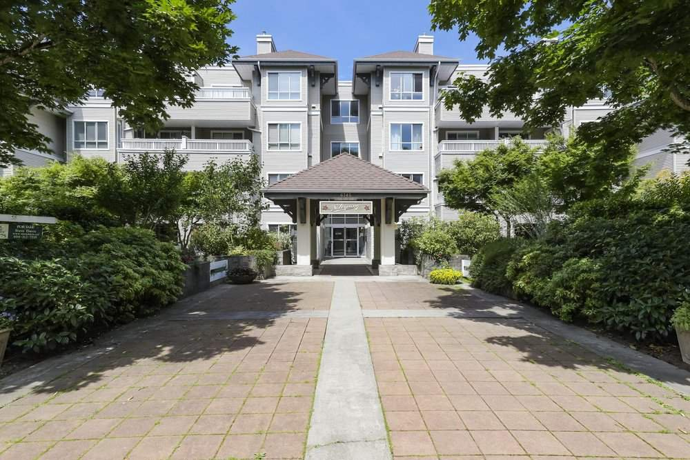 "Main Photo: 205 6745 STATION HILL Court in Burnaby: South Slope Condo for sale in ""THE SALTSPRING"" (Burnaby South)  : MLS®# R2469617"