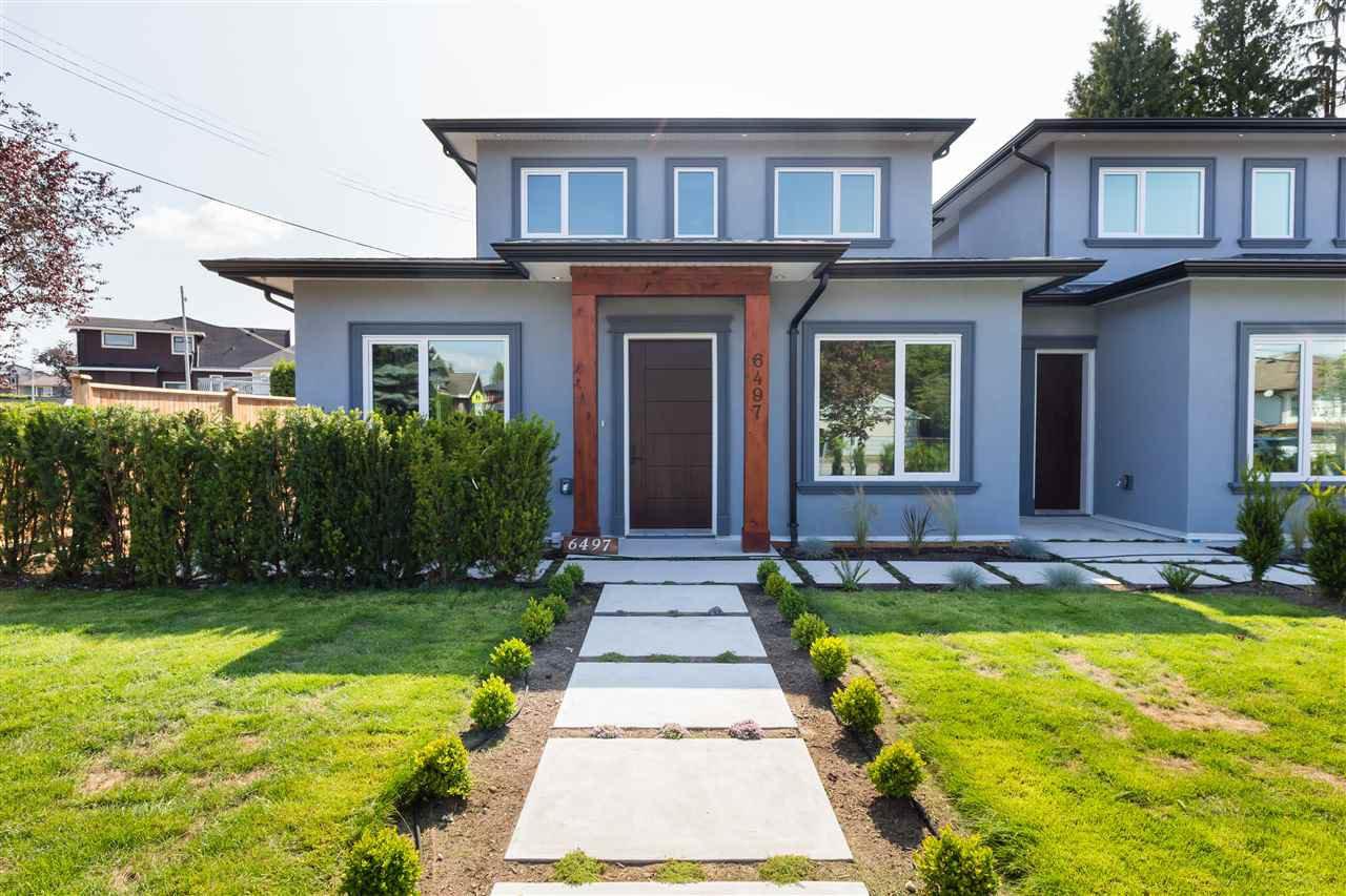 Main Photo: 6497 WALKER Avenue in Burnaby: Upper Deer Lake House 1/2 Duplex for sale (Burnaby South)  : MLS®# R2509028